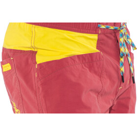 La Sportiva Leader Shorts Men Cardinal Red/Lemonade